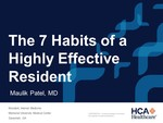 The 7 Habits of a Highly Effective Resident