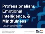 Professionalism, Emotional Intelligence & Mindfulness