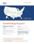 HCA Healthcare GME Anesthesiology by HCA Healthcare