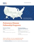 HCA Healthcare GME Pulmonary Disease