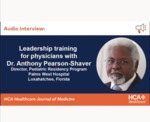Leadership Training for Physicians by Anthony Pearson-Shaver