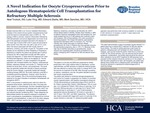 A Novel Indication for Oocyte Cryopreservation Prior to Autologous Hematopoietic Cell Transplantation for Refractory Multiple Sclerosis by Neal R. Trulock DO, Luke Ying MD, Edward Zbella MD, and Mark Sanchez MD